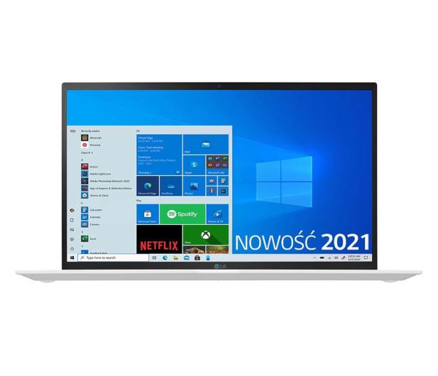 LG GRAM 2021 15Z90P i5 11gen/16GB/512/Win10 biały - 639056 - zdjęcie 4