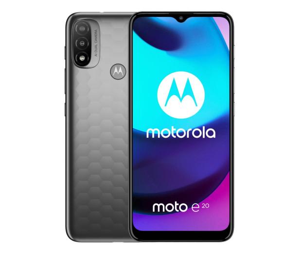 Motorola Moto E20 2/32GB Graphite Gray - 681066 - zdjęcie