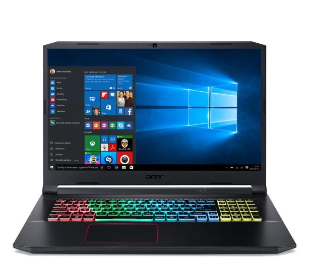 Acer Nitro 5 i5-10300H/16GB/512/W10 RTX2060 120Hz  - 678687 - zdjęcie