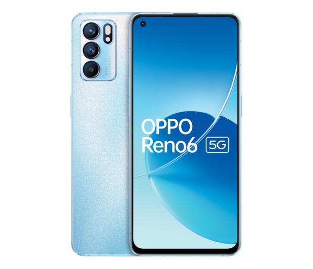 OPPO Reno6 5G 8/128GB błękitny 90Hz - 678271 - zdjęcie