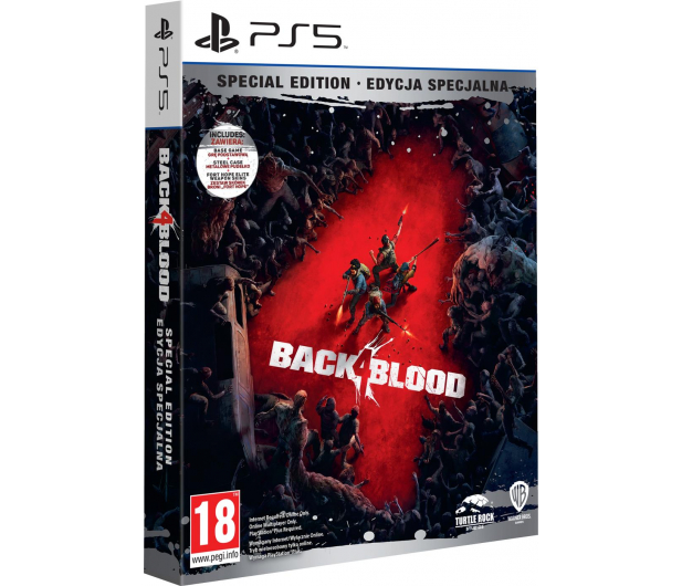 PlayStation Back 4 Blood - Special Edition - 616727 - zdjęcie 2