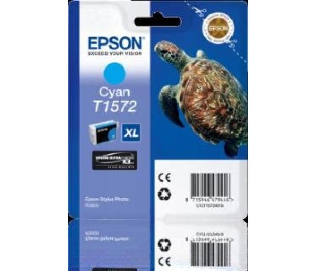 Epson T1572 cyan 25,9ml - 175735 - zdjęcie