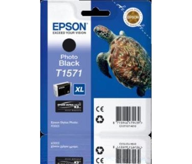 Epson T1571 photo black 25,9ml - 175736 - zdjęcie