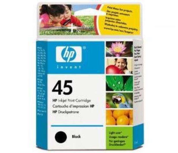 HP 45 czarny 42ml - 1866 - zdjęcie 5