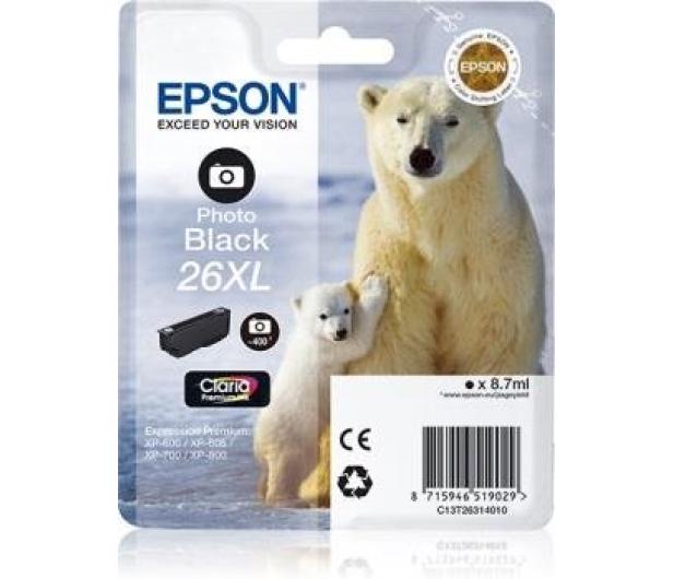 Epson T2631 XL photo black 8,7ml (C13T26314010) - 150464 - zdjęcie 2
