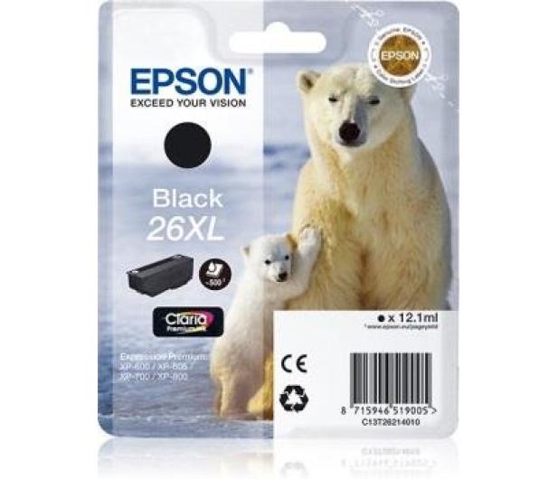 Epson T2621 XL black 12,2ml  - 150465 - zdjęcie 2