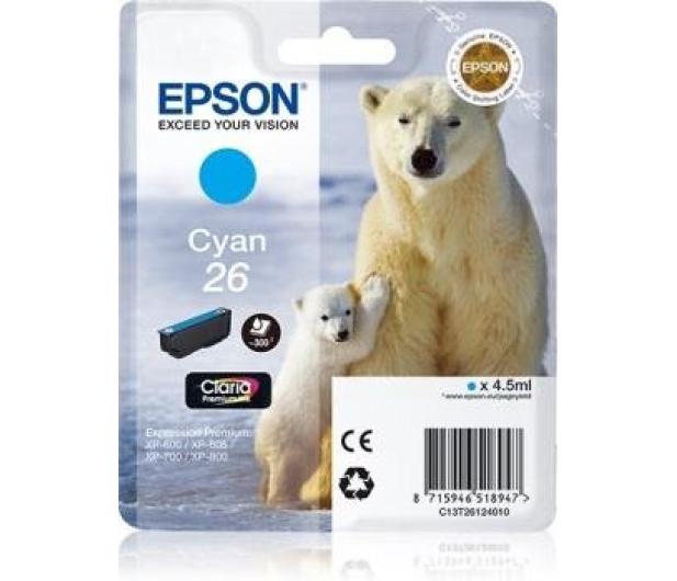 Epson T2612 cyan 4,5ml (C13T26124010) - 150468 - zdjęcie 2