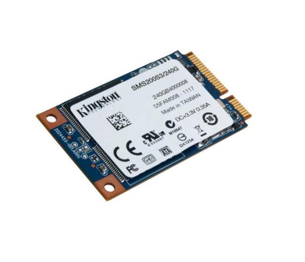 Kingston 240GB 1,8'' mSATA SSD SMS200S3 - 185188 - zdjęcie 2