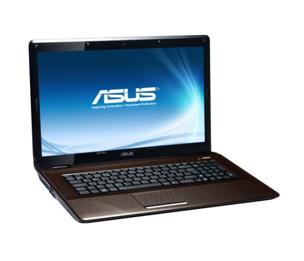 ASUS K72F-TY030 i3-350M/2048/250/DVD-RW - 53555 - zdjęcie