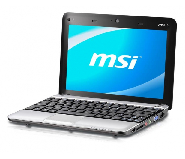 MSI Wind U135DX-1619XPL N455/2048/250 srebrny - 60729 - zdjęcie