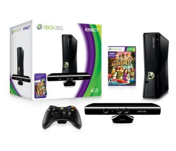 Microsoft XBOX 360 4GB + Kinect - 61715 - zdjęcie