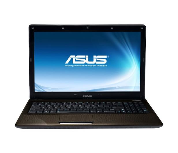 ASUS K52JE-EX034V-4 i3-370M/4096/640/DVD-RW/7HP64X - 64056 - zdjęcie