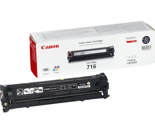Canon CRG-716BK black 2200str. - 44779 - zdjęcie