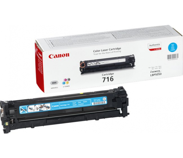 Canon CRG-716C cyan 1500str. - 44780 - zdjęcie