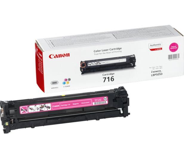 Canon CRG-716M magenta 1500str. - 44781 - zdjęcie