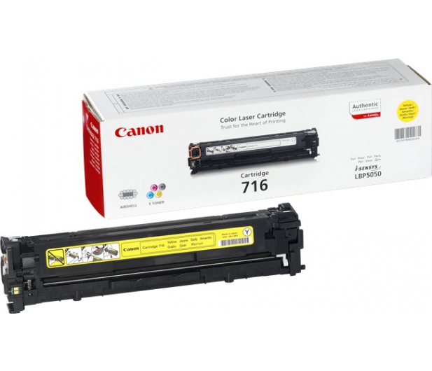 Canon CRG-716Y yellow 1500str. - 44782 - zdjęcie