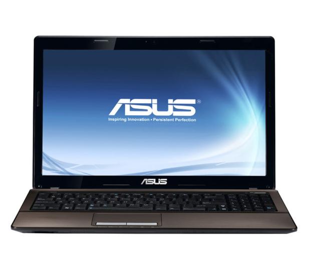 ASUS X53SV-SX759-8 i5-2430M/8GB/500/DVD-RW  - 72808 - zdjęcie