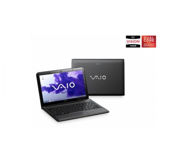 Sony Vaio E E2-1800M/8GB/500/Win8 czarny - 119026 - zdjęcie