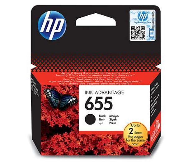 HP 655 CZ109AE black 550str. - 117712 - zdjęcie