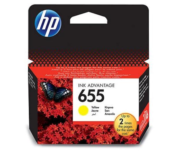 HP 655 yellow 600str. - 117714 - zdjęcie