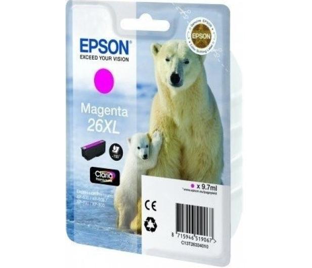 Epson T2633 XL magenta 9,7ml (C13T26334010) - 150462 - zdjęcie