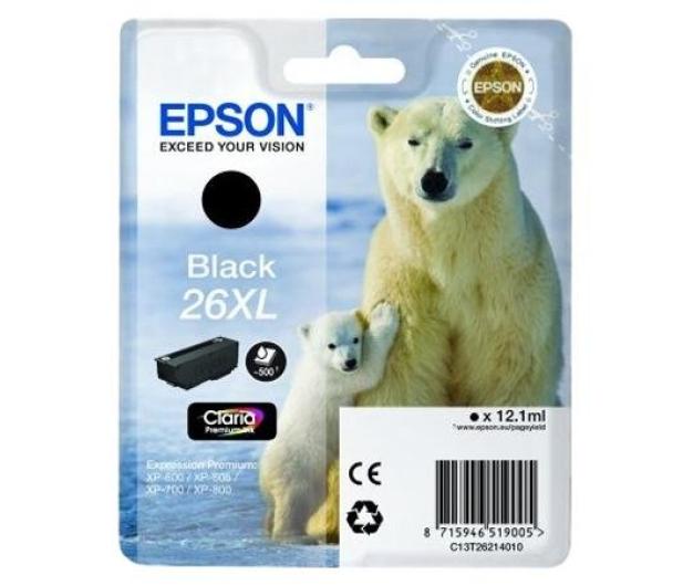 Epson T2621 XL black 12,2ml  - 150465 - zdjęcie