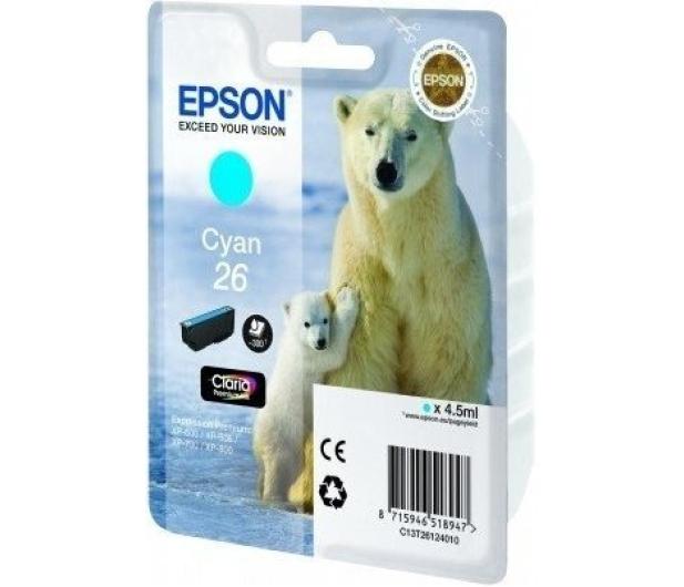 Epson T2612 cyan 4,5ml (C13T26124010) - 150468 - zdjęcie