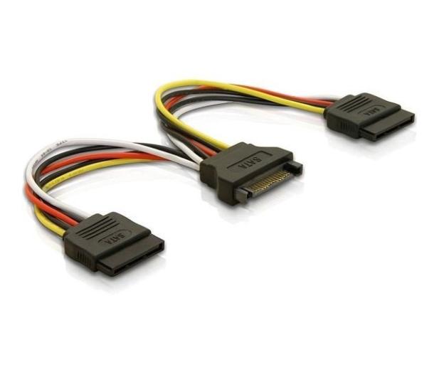 Delock Adapter SATA - 2x SATA 15cm - 172966 - zdjęcie