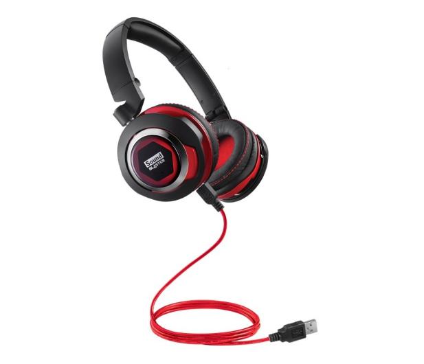 Creative SB Evo USB sluchawki z mikrofonem (PC,PS4) - 175231 - zdjęcie 3