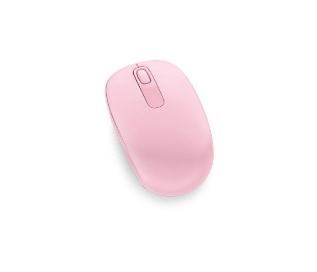 Microsoft 1850 Wireless Mobile Mouse (różowa) - 185693 - zdjęcie 2