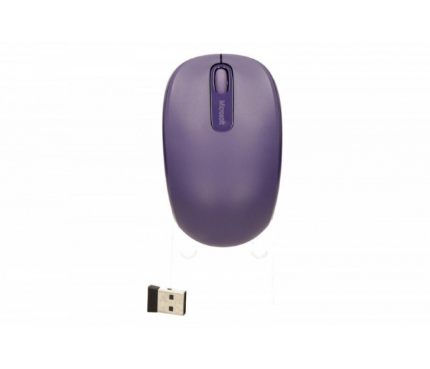 Microsoft 1850 Wireless Mobile Mouse (fioletowa) - 185694 - zdjęcie 5