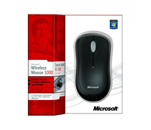 Microsoft 1000 Wireless Mouse czarna
