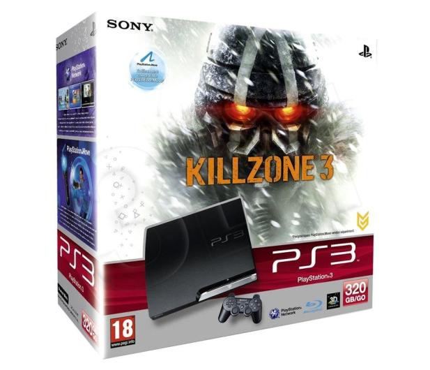 Sony PlayStation 3 Slim 320GB + Killzone 3 - 64211 - zdjęcie 5