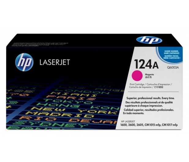 HP 124A Q6003A magenta 2000str. - 8897 - zdjęcie