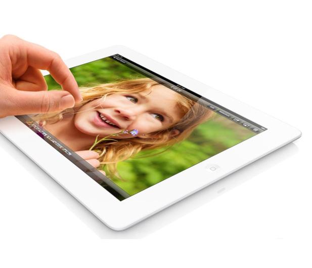Apple iPad z wyświetlaczem Retina 32GB + modem biały - 119365 - zdjęcie 4