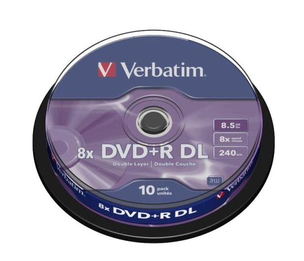 Verbatim 8.5GB 8x Double Layer CAKE 10szt. - 28974 - zdjęcie