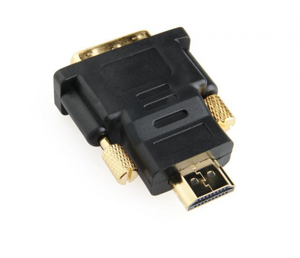 Gembird Adapter HDMI - DVI (pozłacany) - 119673 - zdjęcie