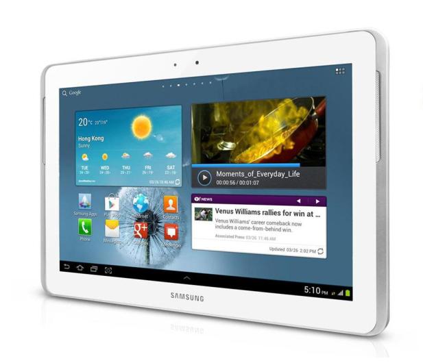 Samsung P5110 Galaxy Tab 2 A9/1024MB/16/Android 4 biały - 106013 - zdjęcie