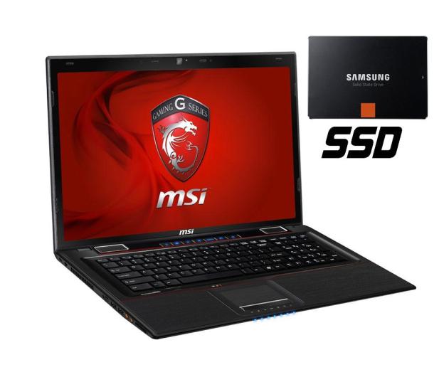MSI GE70 0ND i5-3210M/16GB/120+750/7HP64X FHD GTX660 - 120832 - zdjęcie