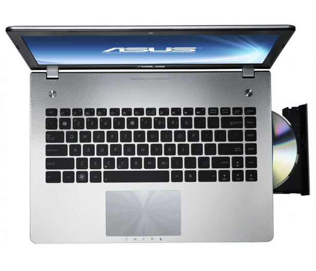 ASUS N46VZ-V3022V i7-3610QM/4GB/750/DVD-RW/7HP64 - 79408 - zdjęcie 4