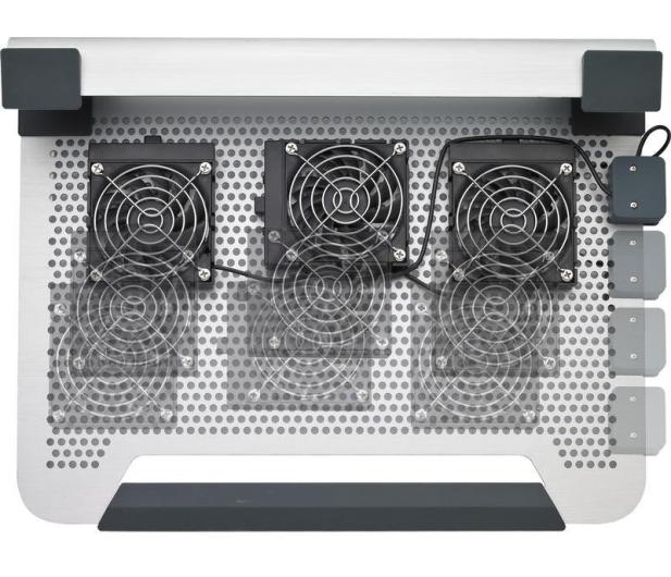 "Cooler Master Chłodząca Notepal U3 (13 do 19"") srebrna  - 75968 - zdjęcie 2"