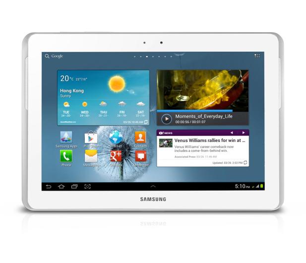 Samsung P5110 Galaxy Tab 2 A9/1024MB/16/Android 4 biały - 106013 - zdjęcie 2