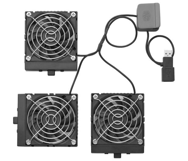 "Cooler Master Chłodząca Notepal U3 (13 do 19"") srebrna  - 75968 - zdjęcie 5"