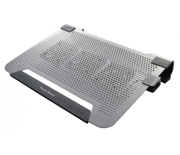 "Cooler Master Chłodząca Notepal U3 (13 do 19"") srebrna  - 75968 - zdjęcie"