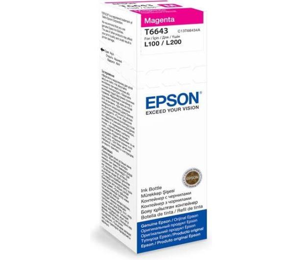 Epson T6643 magenta 70ml 6400 str. (C13T66434A) - 161249 - zdjęcie