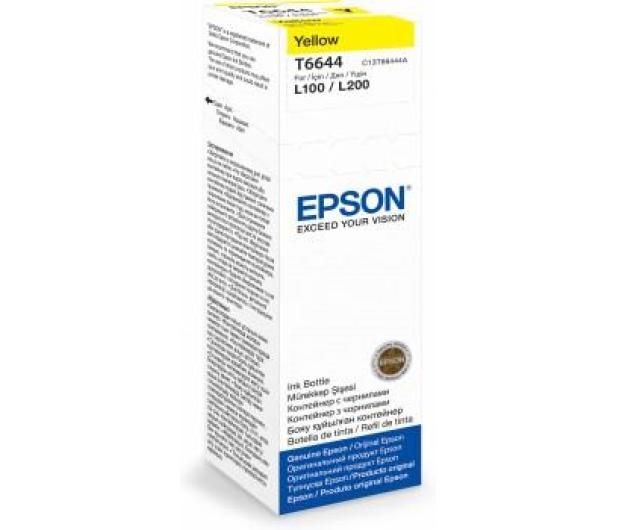 Epson T6644 yellow 70ml 6400 str. (C13T66444A) - 161246 - zdjęcie