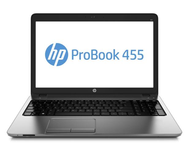 HP ProBook 455 A10-5750M/8GB/1000/DVD-RW/Win8 HD8750M - 159848 - zdjęcie