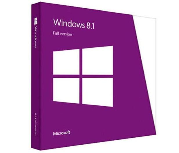 Microsoft Windows 8.1 PL 32bit/64bit BOX - 161610 - zdjęcie
