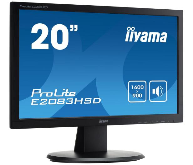 iiyama E2083HSD-B1 - 161196 - zdjęcie 3