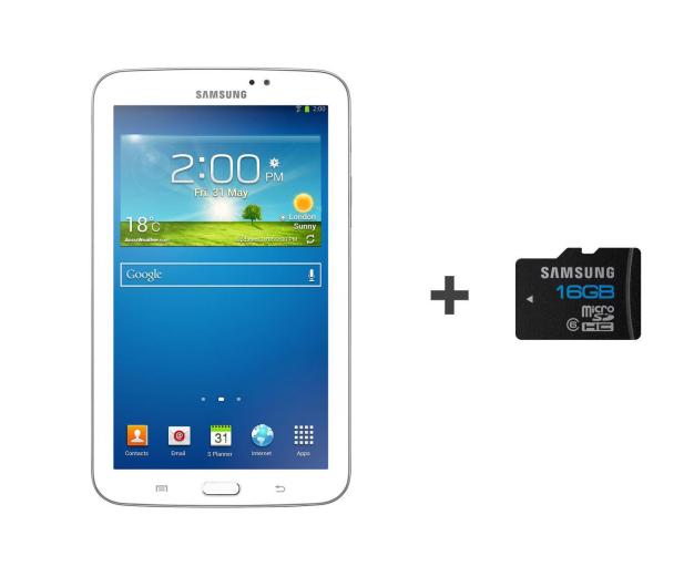 Samsung Galaxy Tab 3 T210 DC/1024MB/24/Android 4.1 biały - 156076 - zdjęcie
